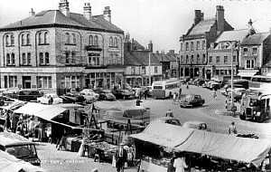 Thirsk Market day 1960s